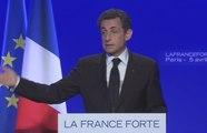 Évènements : Nicolas Sarkozy présente son projet
