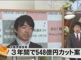 2012-4-5大阪news 橋下事業仕分け 548億削減
