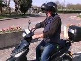 Des élus en scooters électriques! (Pont-Ste-Marie)