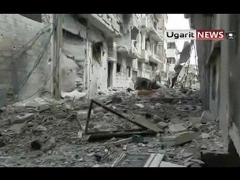 SYRIE,HOMS ville sinistrée (03 avril au 05 avril)