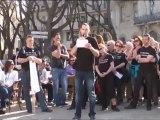Marche Nîmes 240312 Prise de parole part1