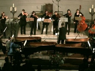Bach : Concerto  pour 4 pianos BWV 1065