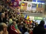 Supporters Valcea - Györ / Demi-finale Ligue des Champions Handball Féminine