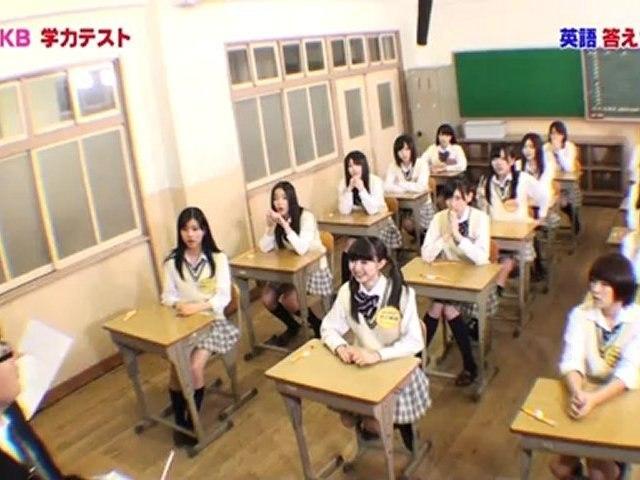 週刊AKB 『ルーキーズ抜き打ちテスト 後編』 #139 2012.04.06
