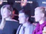 The Hunger Games - Official Paris Premiere Footage - Jennifer Lawrence, Lia