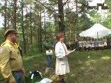 Zlot Związku Harcerstwa Polskiego Kielce 2007 10 - 19 sierpnia 2007r.  - Krąg pożegnalny - Hufiec Mielec
