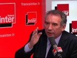 François Bayrou, invité de la Matinale Spéciale sur France Inter - 110412