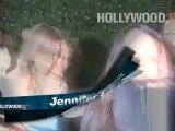 Jennifer Lopez leaving Ceccinos
