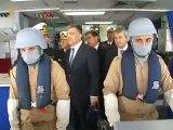 Cumhurbaşkanı Abdullah Gül, Kocaeli'nde Donanma Komutanlığı'nı ziyaret etti.