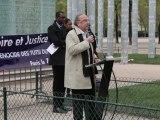 Intervention de M. Pierre Aidenbaum, Maire du 3e arr. de Paris à la 18ème Commémoration du Génocide des Tutsi au Rwanda