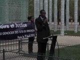 18ème Commémoration du Génocide des Tutsi au Rwanda, Paris, 7 avril 2012 - Alain Ngirinshuti