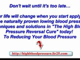 cure to high blood pressure - cure for low blood pressure - natural cure for blood pressure