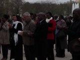 18ème Commémoration du Génocide des Tutsi au Rwanda, Paris, 7 avril 2012 - Mme Geneviève Remeringer, Lutte Ouvrière