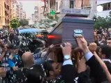 Beirut funeral for Lebanese journalist shot by Syria