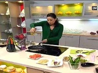 recette de choumicha 2012 poulet et salade sauce