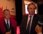 Philippe VASSEUR - Directeur CCIR Nord et Jean-Michel AULAS - président CEGID et Olympique Lyonnais
