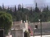 فري برس ريف حلب حريتان تجدد القصف على مدينة حريتان 10 4 2012
