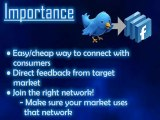 Creating Social Network Profiles for Business