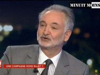 Jacques Attali - Nous sommes dans une situation cataclysmique - France 2 - JT 20 H - 10/04/2012