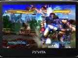 Street Fighter X Tekken : PS Vita Gameplay 02