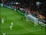Repliegue intensivo del Milan ('2) - Barcelona vs Milan - Champions League 2011/2012