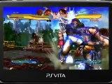 Street Fighter x Tekken PS Vita - Tekken Gameplay