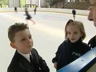 La danse sur glace au Rouen Olympic Club