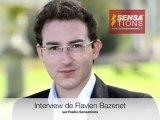 Interview de Flavien Bazenet pour François Bayrou sur Radio Sensations