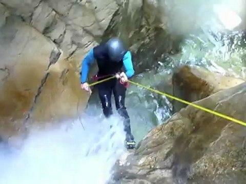 Canyoning aux Ecouges partie Haute, massif du Vercors