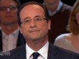 Hollande adresse sans zigzag ses flèches à Sarkozy