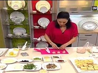 Choumicha - Recette de Canapé Choumicha Amuse-bouche et Toasts