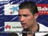 La machine Cristiano Ronaldo attend le Barça