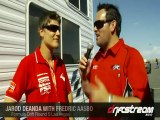 Fredric Aasbo at round 5 of Formula Drift in Vegas