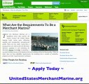 What Are The Requirements To Be A Merchant Mariner?