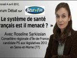Roseline Sarkissian Forum Débat Santé Beur FM 040412 part. 1