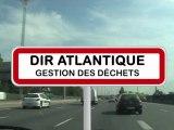 Tri sélectif et gestion des déchets au bord des routes, DIR Atlantique
