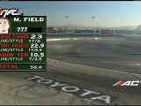 Jeff Jones scores a 58 during session 1 of qualifying for Formula Drift Round 7