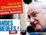 Jacques Cheminade ne mâche pas ses mots aux Grandes Gueules sur RMC