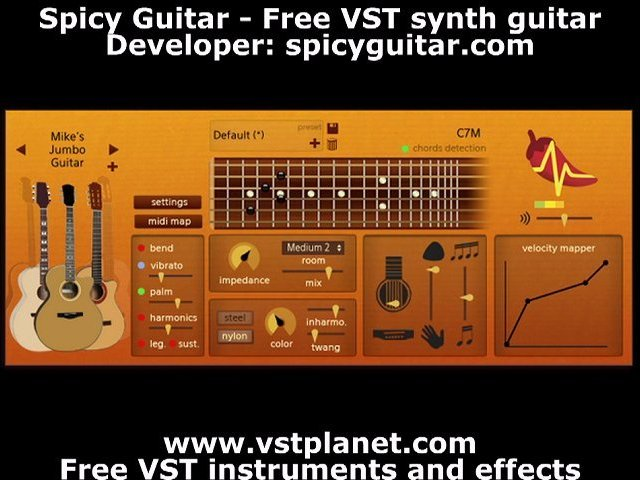Spicy Guitar – Free VST synth guitar