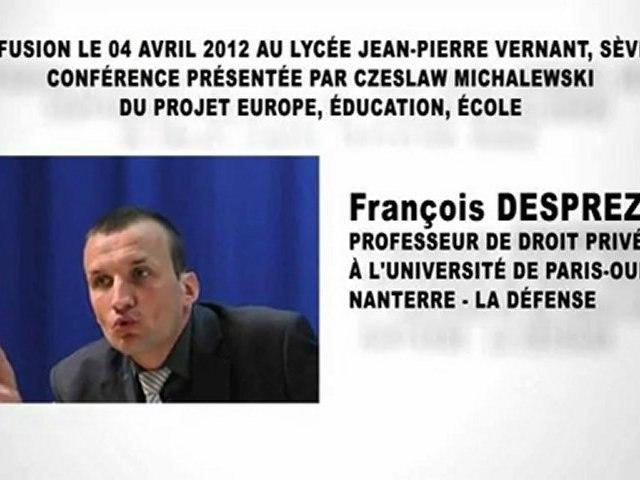 La légalité criminelle, François DESPREZ