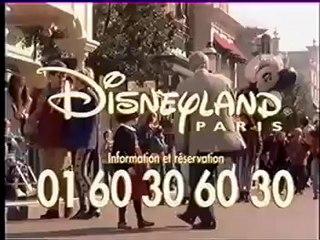 Disneyland Paris 1996 publicité