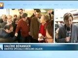 Hollande remonte la France et dans les sondages