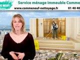Nettoyage ménage immeuble Paris