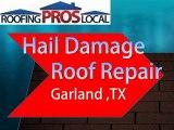 Hail Damage Roof Repair - Garland, TX