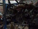 premier demarrage du moteur R25 du Buggy
