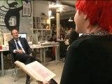 Mediapart 2012 - Portrait chanté de François Hollande par la Parisienne libérée