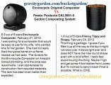 Envirocycle Original Composter Black vs Presto Products GKL0951-6 Geobin Composting System