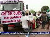 Premier convoi d'aide humanitaire pour le Nord Mali