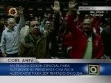 AN autoriza al presidente Chávez ausentarse del país por más de cinco días
