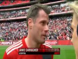 FA LFC vs EFC Post game celebration and interviews 14-04-2012